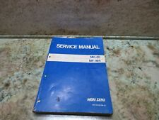 Mori Seiki Mh 40 Cnc Horizontal Mill Mf M4 Service Manual Sm Mh40f0m 2e