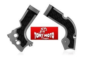 Acerbis protezioni telaio in plastica Honda Crf r 250 2014-2017 Honda Crf r 450 2013-2016 rosso