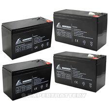 PACK OF 4 - 12V Volt 9Ah Batteries for RAZOR Scooter ES300 E200 E300