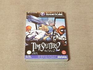 Nintendo-Gamecube-NGC-Time-Splitters-2-Game-Korean-Version-Brand-New-Sealed-Rare