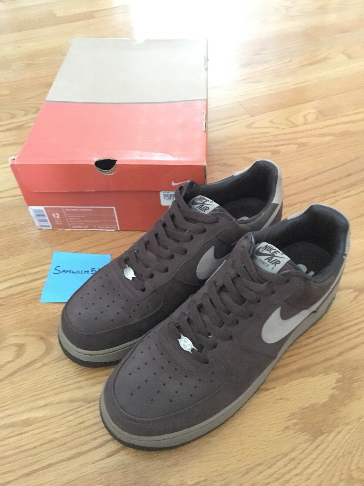 2018 Euro Release Air Force 1 Baroque Brown Sz 12 New shoes for men and women, limited time discount