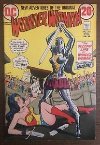 Wonder-Woman-204-first-printing-1973-DC-Comic-Book-1st-Appearance-of-Nubia