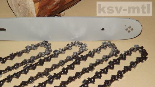 """1 Schwert 30cm Stihl MS018 021 023 025 4 Sägekette 1.3//3//8/""""//44TG"""