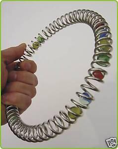 Murmel Ring aus METALL mit 18cm DURCHMESSER    30-65