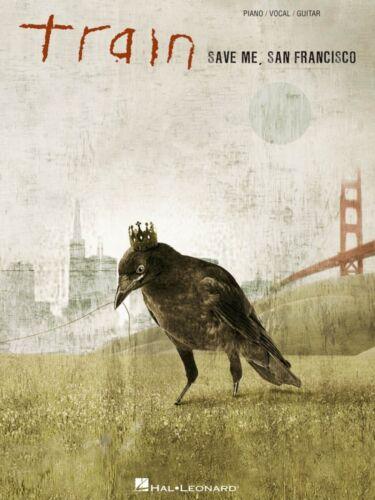 Train Save Me San Francisco Sheet Music Piano Vocal Guitar Songbook 000307159