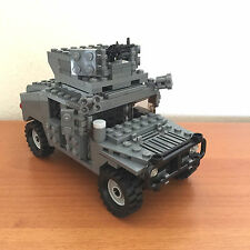 Lego Custom Modern Military Humvee Humvee with Heavy Machine Gun and Armor