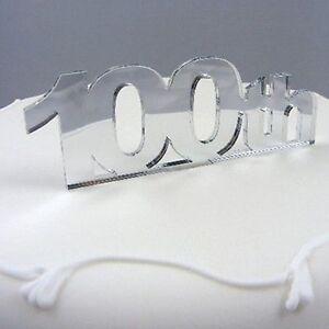 100eme-Topper-Gateau-Anniversaire-Disponible-dans-une-gamme-de-couleurs