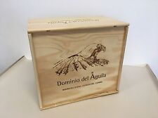 "Weinkiste Holz 6er Kiste Deko Wein Shabby Chateau Regal  ""Dominio del Aguila"""