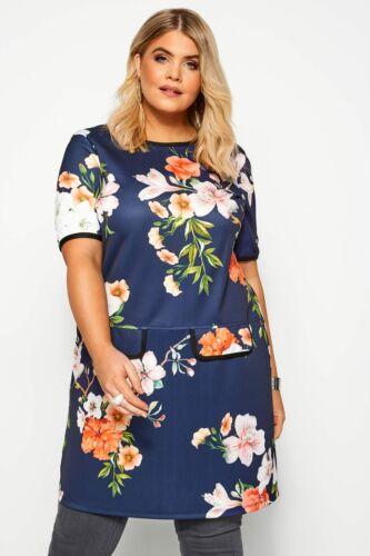 Yours vêtements pour femme taille plus Mock poche Tunique