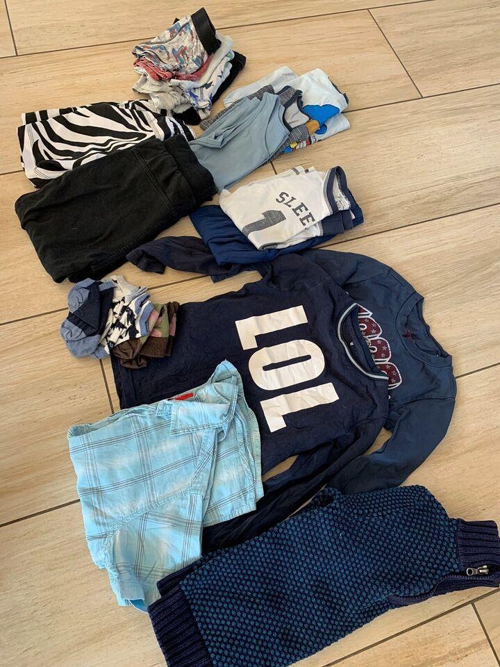 Blandet tøj, Drengetøj tøjpakke str 4-5 år, Molo mm