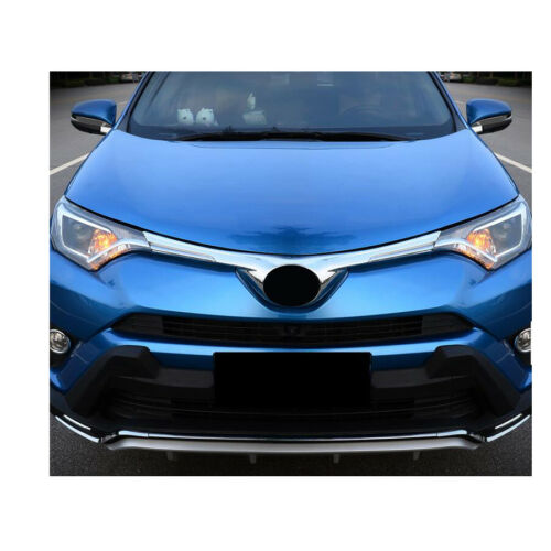 1PCS Chromed Front Grill Grille Moulding Trim trims For Toyota ...