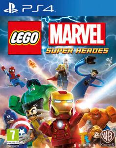 Lego Marvel Super Heroes PS4 PLAYSTATION 4 Warner Bros