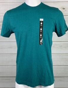 New-Alfani-Mens-Cotton-Heathered-Blue-Undershirt-Heather-T-Shirt-NWT-Shirt-A6517