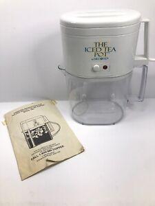 Mr Coffee The Iced Tea Pot Tea Maker Model TM4 W ...