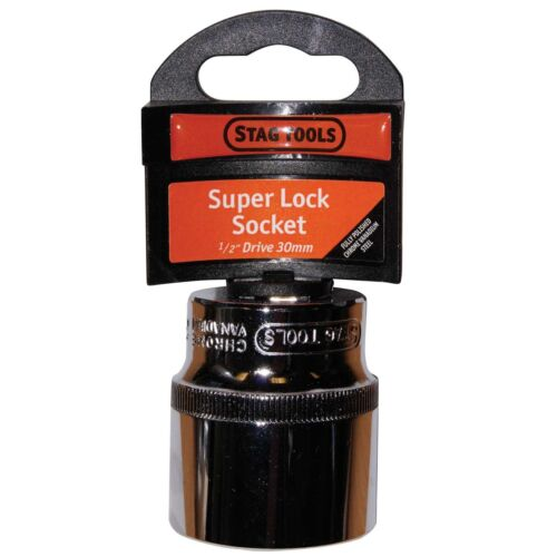 Stag Tools Super Lock Socket 1//2/'/' Drive 30mm Sta100 DIY Garage Hand Tool