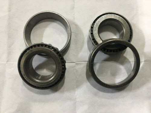 """2 L44610 L44643 BEARING CUP AND CONE SAME AS TIMKEN SET 14 1/"""" TRAILER A SET"""