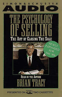 The Psychology of Selling: The Art of Closing Sales by Brian Tracy (CD-Audio,...