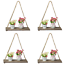 Wooden-Hanging-Shelf-Swing-Floating-Shelves-Rope-Wall-Display-Rack-Home-Decor thumbnail 16