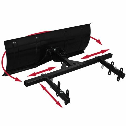 """39/"""" Snow Plow Blade Mount for Snow Thrower Snow Pusher Angle Adjustable Driveway"""
