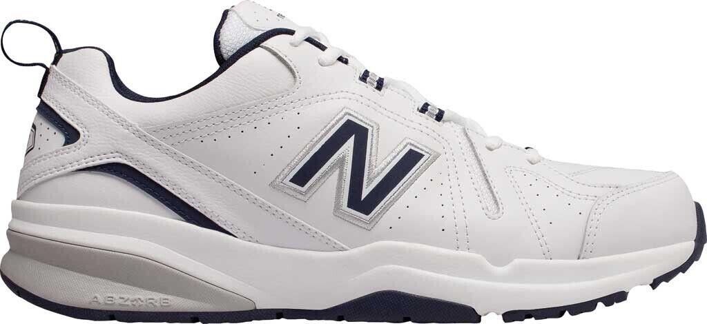 New Balance 608v5 Trainer (Men's shoes) in White   Navy - NEW