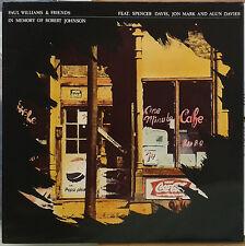 LP Paul Williams Set In Memory Of Robert Johnson ,  WHITE VINYL, NEAR MINT, RARE