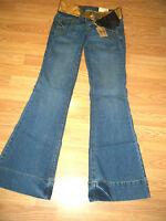 Lei Chelsea Stretch Denim Flare Jeans W/belt Size 0r