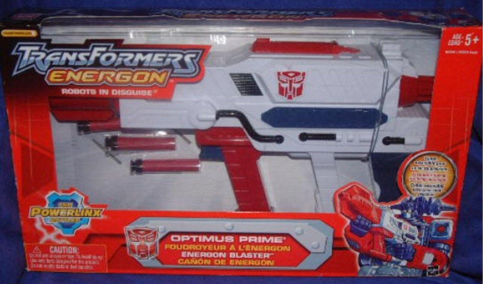 Transformers Energon Optimus Prime Energon Blaster New Powerlinx Factory Sealed