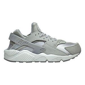 24d1d86497e Nike Air Huarache Run Premium Suede Medium Grey Off White 833145 002 ...