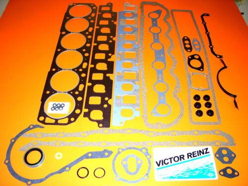 1987-1997 FITS FORD TRUCK 300   6 CYINDER  VICTOR REINZ ENGINE  GASKET SET