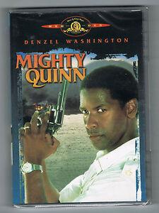 MIGHTY-QUINN-DENZEL-WASHINGTON-MIMI-ROGERS-CARL-SCHENKEL-DVD-NEUF