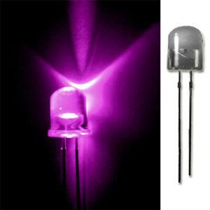 LED-10mm-PINK-20-50-100-500-LEUCHTDIODEN-SUPERHELL-RUNDKOPF-AUSWAHL