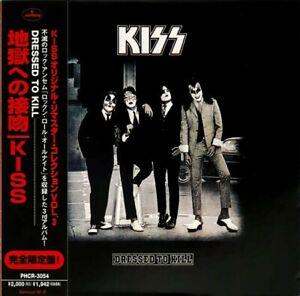 KISSCD - JAPAN REMASTERED - DRESSED TO KILL - CARDBOARD LIKE LP - 1997 -C138801