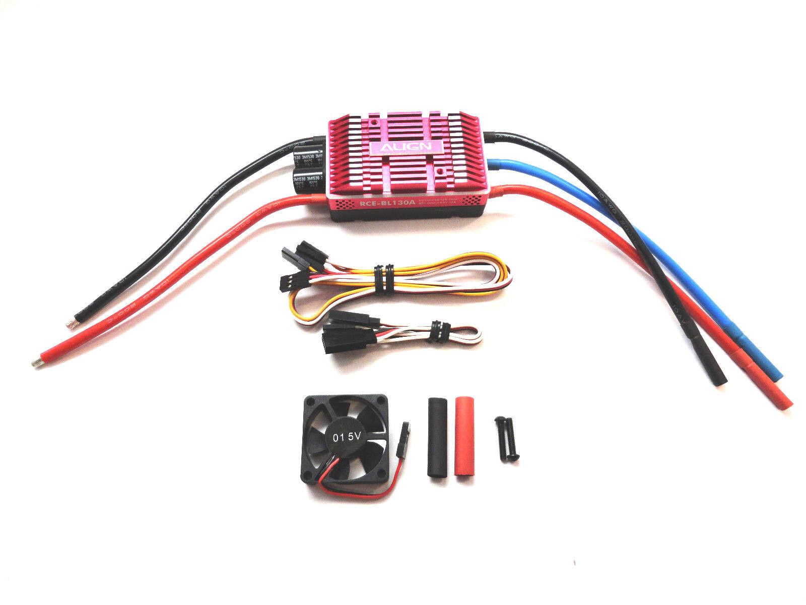 Align RCE-BL130A 130A sin Escobillas Esc Control de Velocidad HES13001