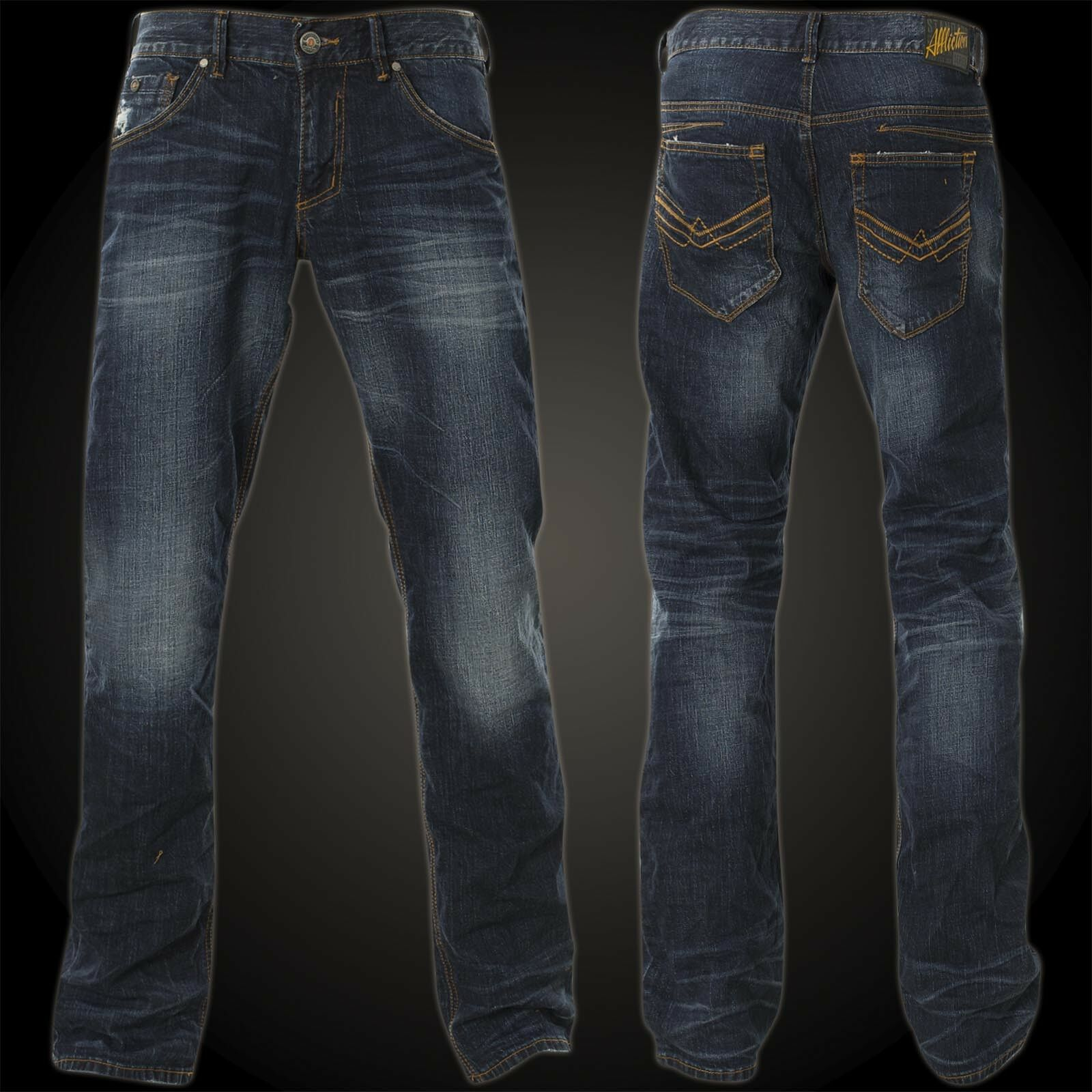 Affliction Jeans Ace Ascended Tacoma Dark bluee