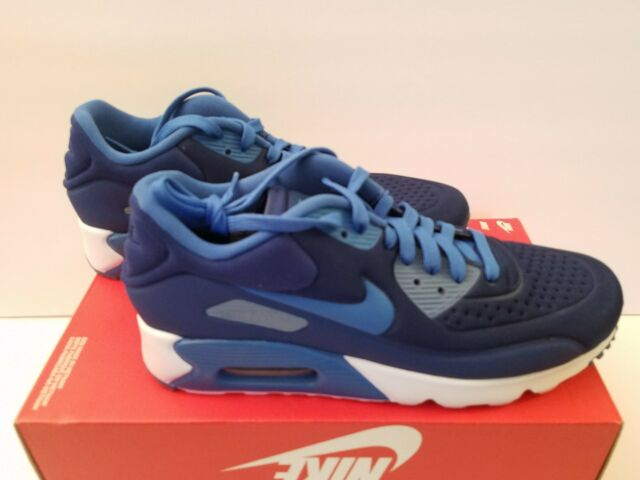 NIKE AIR MAX 90 ULTRA SE Sz 9.5 COASTAL BLUE OCEAN FOG [845039 400]