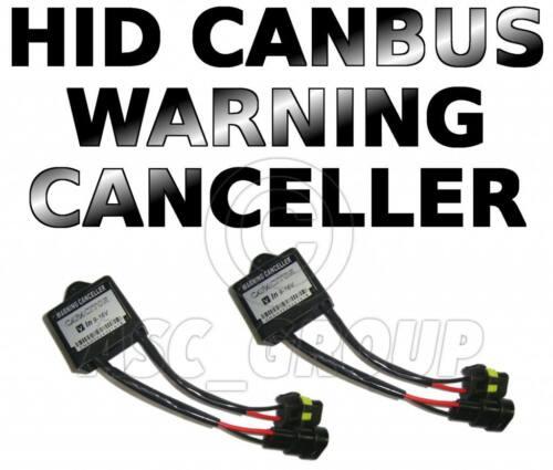 Paire ou HID cancellors Ampoule avertissement hors de la lumière erreur cancellers