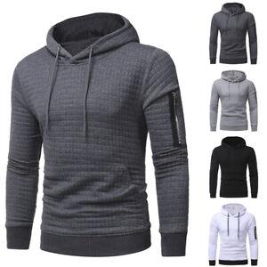 Mens-Hoodies-Hooded-Long-Sleeve-Sweatshirt-Tops-Casual-Pullover-Jumper-Blouse