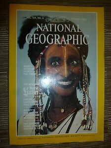 National Geographic NIGER039S WODAABE PEOPLE OF THE TABOO  October 1983 - London, United Kingdom - National Geographic NIGER039S WODAABE PEOPLE OF THE TABOO  October 1983 - London, United Kingdom