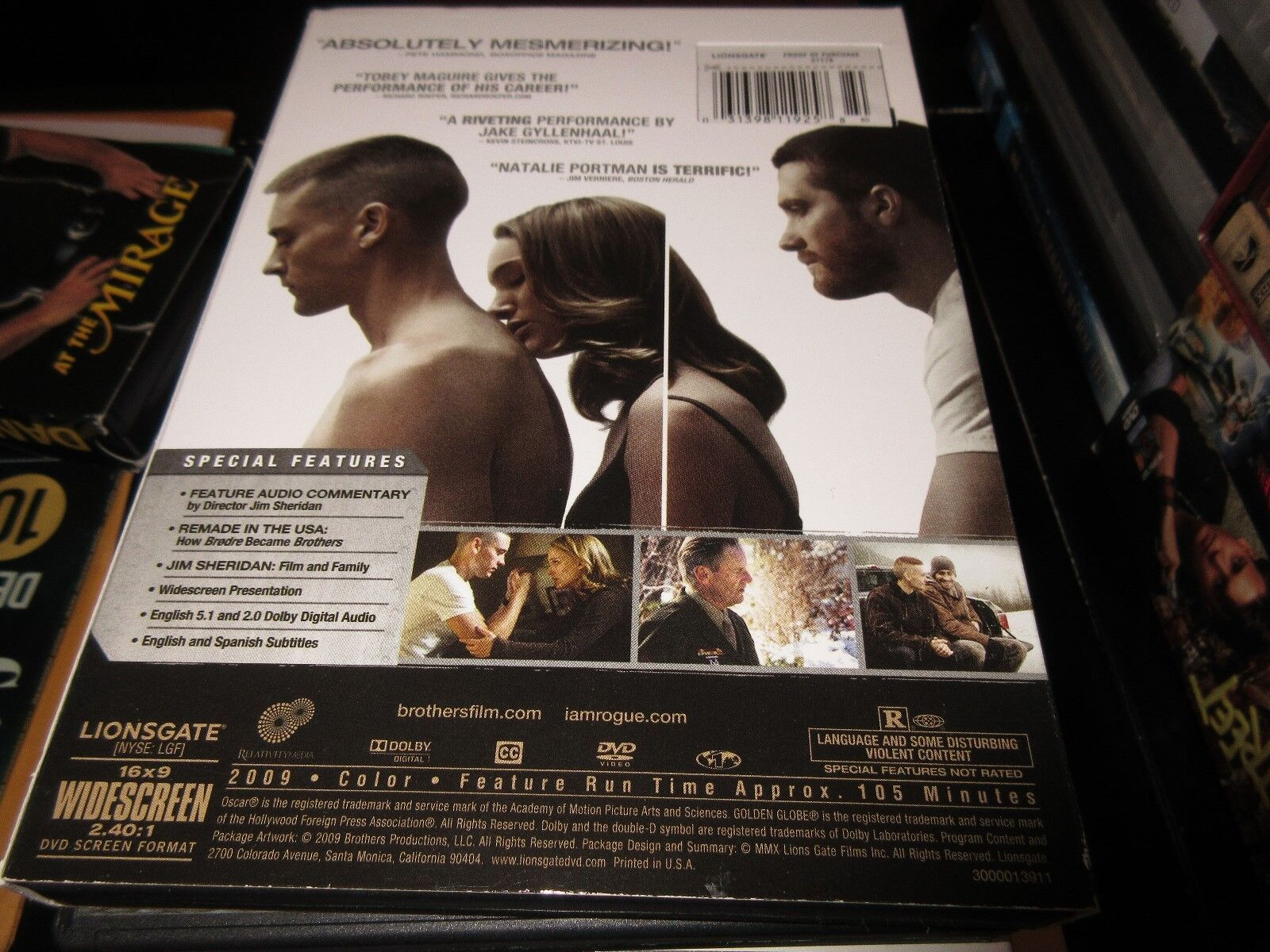 Brothers , DVD