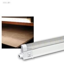LED Unterbauleuchte 60cm mit 34 SMD LEDs warmweiß 230V Lichtleiste Küchenleuchte
