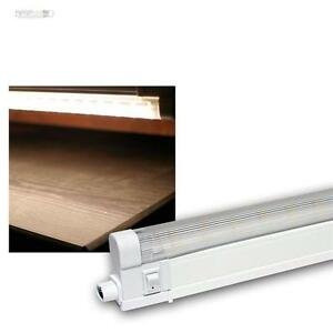 SMD LED Unterbauleuchte 60cm kaltweiß 230V Küchenleuchte Lichtleiste Leuchte