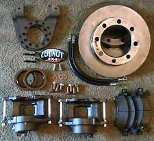 GM 14 bolt complete disc brake conversion kit 10.5 SRW full float disk brakes