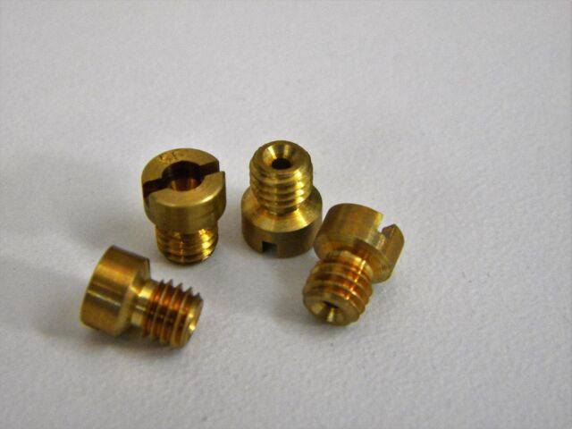 Holley-QFT-AED CCS 126-37 10-32 Screw In Air Bleed .037 Pack of 4