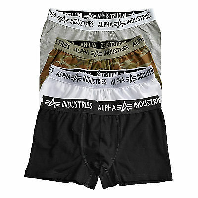 Alpha Industries Bodywear Boxer Trunks 113905 Underwear Men Boxershorts S-3X