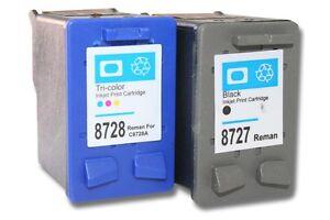 2x-CARTUCCE-STAMPANTE-NERO-COLORE-PER-HP-27-XL-28-XL-PSC-1312-1315