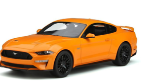 GT SPIRIT 1 18 SCALE 2019 FORD MUSTANG orange FURY