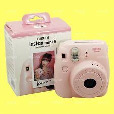 Fujifilm Instax Mini 8 Camera Instant Color Film Camera (Pink) Photo Selfie