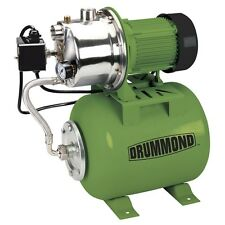 1 HP Stainless Steel Shallow Well Pump/Tank with Pres control Switch - 950 GPH