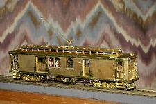 SUYDAM PACIFIC ELECTRIC 1401 GOLDEN GATE RPO HO BRASS TROLLEY HO TRAIN