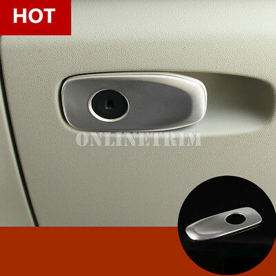 For VOLVO V60  Interior Glove Box Switch Button Trim Cover 1pcs 2012-2017